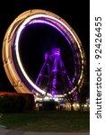 Wiener Riesenrad, the Vienna Giant Ferris Wheel - stock photo