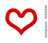 valentine's day and valentine... | Shutterstock . vector #92426944