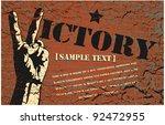 vector background in style... | Shutterstock .eps vector #92472955