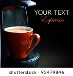 coffee espresso | Shutterstock . vector #92479846