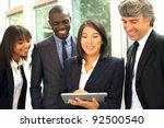multi ethnic team   Shutterstock . vector #92500540