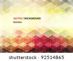 abstract background for design | Shutterstock .eps vector #92514865
