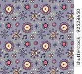 valentine's day seamless pattern | Shutterstock .eps vector #92528650