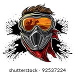 paintball | Shutterstock .eps vector #92537224