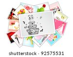 illustration of collection of... | Shutterstock .eps vector #92575531