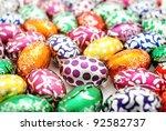 Colorful Easter Egg Background