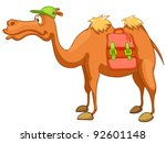 cartoon character camel... | Shutterstock .eps vector #92601148