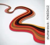 Striped Color Line Abstract...