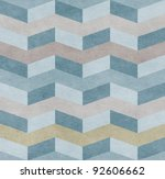 seamless chevron old paper... | Shutterstock . vector #92606662