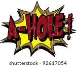 a hole | Shutterstock .eps vector #92617054