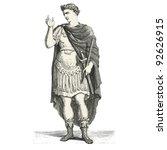 emperor julius caesar   vintage ...