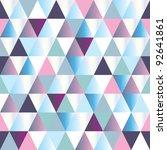 diamonds seamless triangle... | Shutterstock .eps vector #92641861
