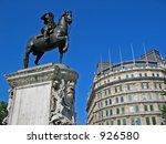 a statue in london   Shutterstock . vector #926580