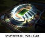 3d render of a building | Shutterstock . vector #92675185