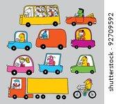 traffic   Shutterstock .eps vector #92709592