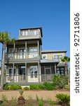New Beach House for Sale or Rent - stock photo