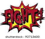 fight | Shutterstock .eps vector #92713600