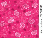pink and bright seamless pattern | Shutterstock .eps vector #92720881
