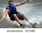 Waterskiier