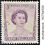 new zealand   circa 1953  a...   Shutterstock . vector #92756533