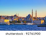 Istanbul Sunset Panorama  ...