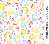 food texture | Shutterstock .eps vector #92778157