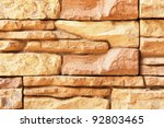 a wall of decorative tiles in... | Shutterstock . vector #92803465