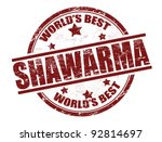 grunge rubber stamp with the...   Shutterstock .eps vector #92814697