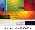 five simple backgrounds   web...