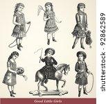 Good Little Girls   Vintage...