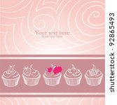 for my lovely sweetheart girl | Shutterstock .eps vector #92865493