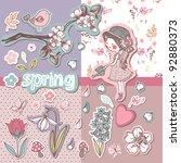 Spring Scrapbook Set