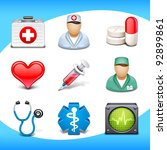 medical icons | Shutterstock .eps vector #92899861
