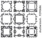 decorative set | Shutterstock .eps vector #9290686
