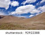 scenery in tibet | Shutterstock . vector #92922388