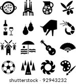 spain pictograms