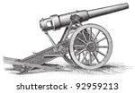 Cannon  15cm    Vintage...