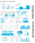 vector set elements of... | Shutterstock .eps vector #93025852