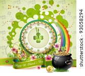 St. Patrick\'s Day Card Design...
