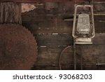 Vintage Wooden Tool Shed