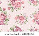 wallpaper pattern with of... | Shutterstock .eps vector #93088552