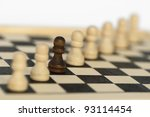 concept of uniqueness and... | Shutterstock . vector #93114454