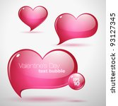 Heart Shaped Vector Text...