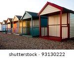 Beach Huts At Calshot ...