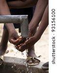 water of life in africa | Shutterstock . vector #93156100