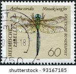 germany   circa 1991  a stamp... | Shutterstock . vector #93167185