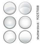 blank buttons is an... | Shutterstock .eps vector #93257008