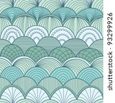 abstract seamless pattern with... | Shutterstock .eps vector #93299926