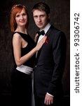 beautiful young couple. | Shutterstock . vector #93306742