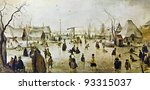 Постер, плакат: Hendrick Avercamp 1585